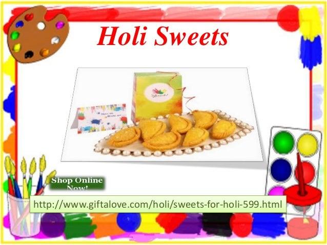 Special holi gifts Slide 3