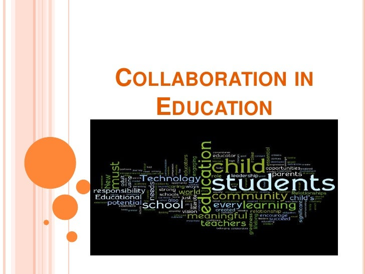 Collaborative Teaching For Special Education ~ Collaborative partnerships in education
