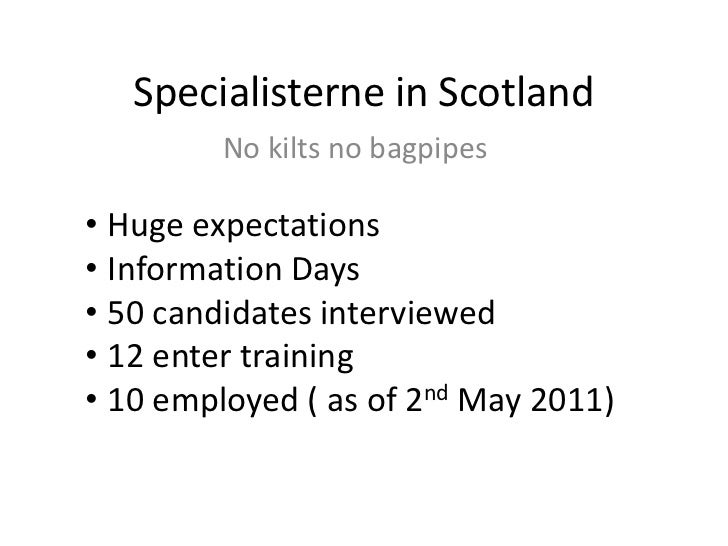 Specialisterne in Scotland<br />No kilts no bagpipes<br /><ul><li>Huge expectations
