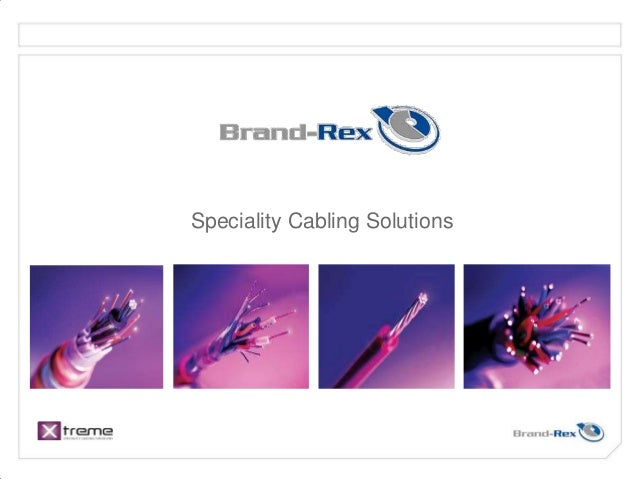 Speciality Cabling Solutions