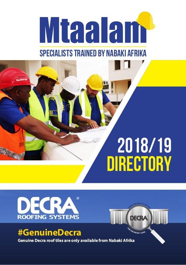 Specialized Building Material Company in Tanzania