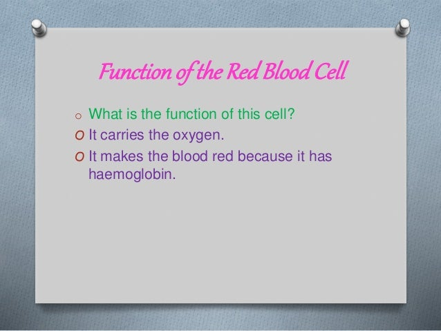 Specialized Cells, Biology