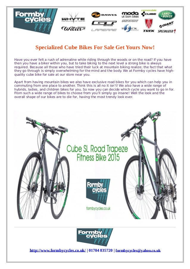 Specialized cube bikes for sale get yours now!