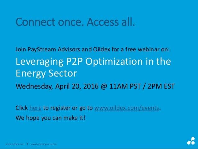 Optimizing Your PP Workflow - Open invoice oildex