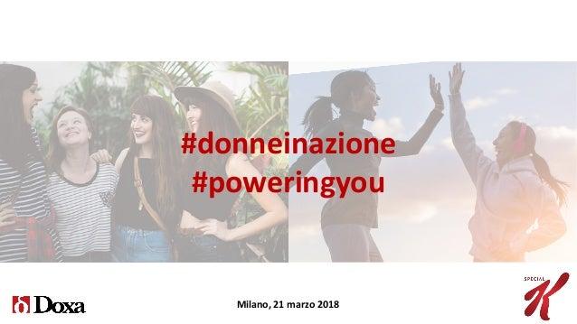 Donne in Azione Slide 2