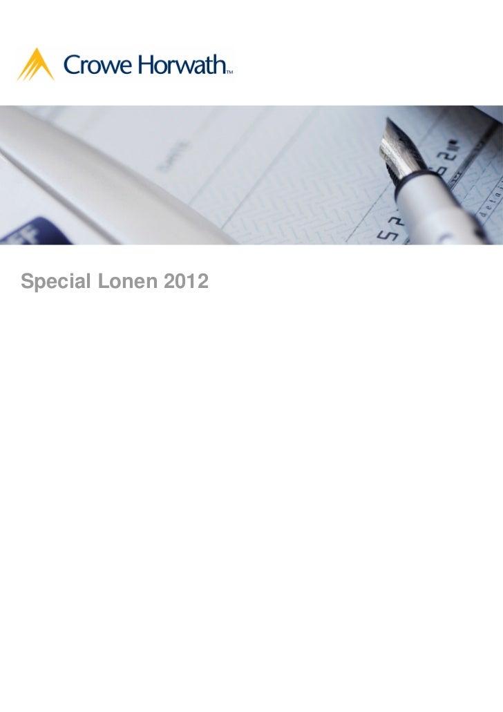 Special Lonen 2012