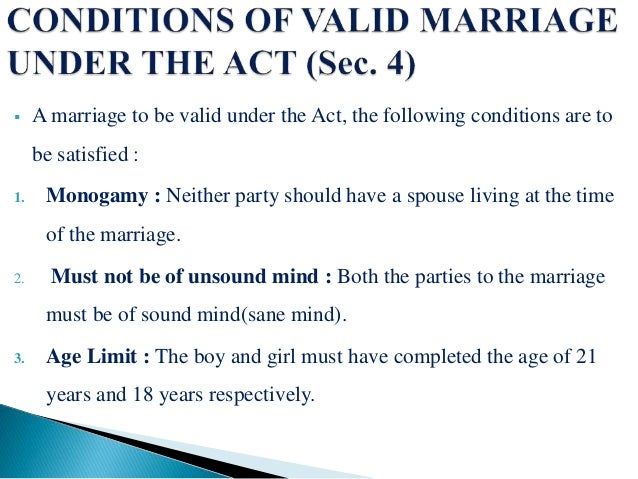 special marriage act 1954 pdf