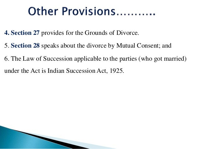 Special marriage Act,1954