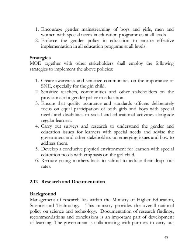 interesting special education research topics