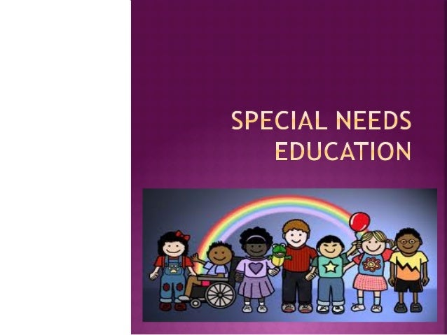 Special needs education powerpoint educ100
