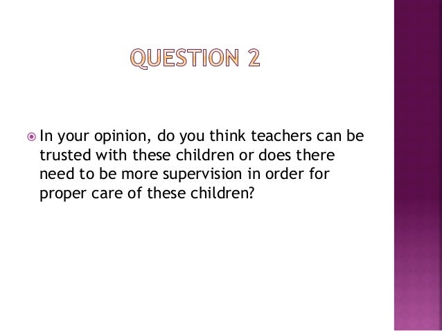 ž Do     you think it may be necessary for children  with special needs to have their own learning  facilities, separate...