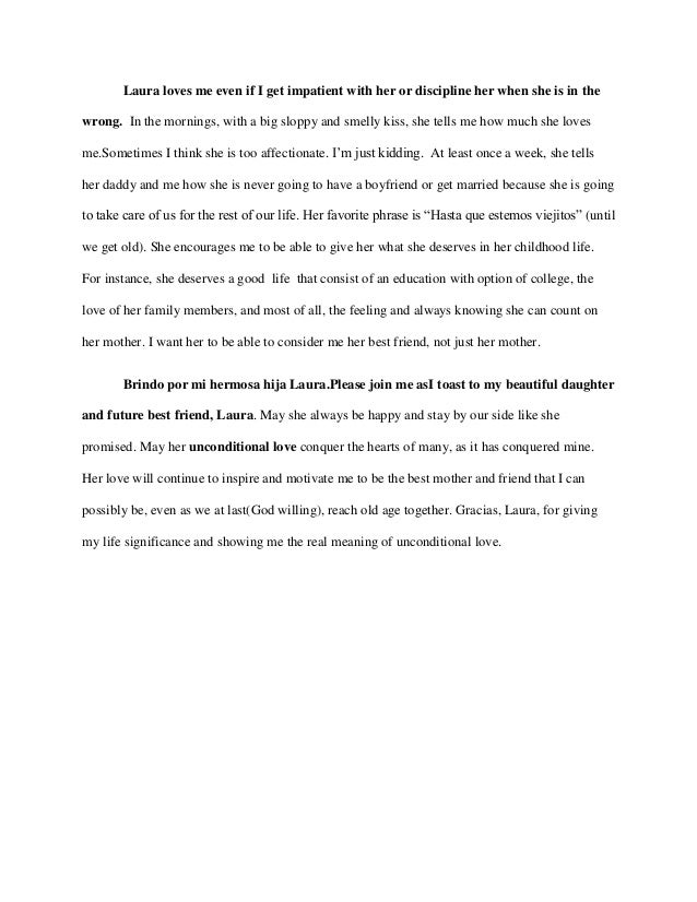 Special occasion sample speech – Tribute Speech Examples