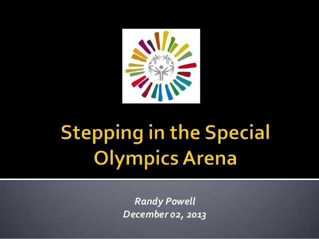 Randy Powell December 02, 2013