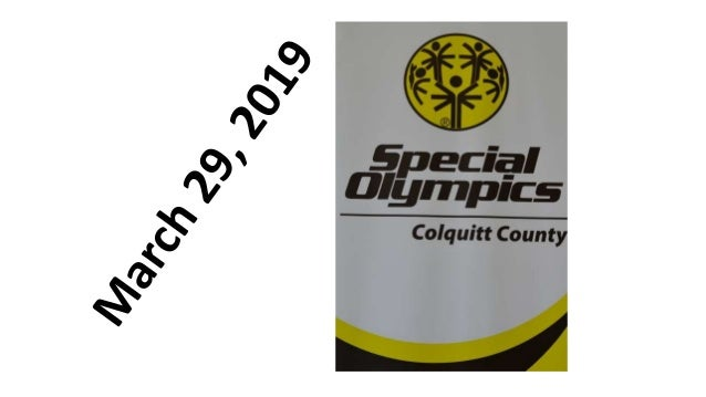 Special Olympics - Colquitt County High School