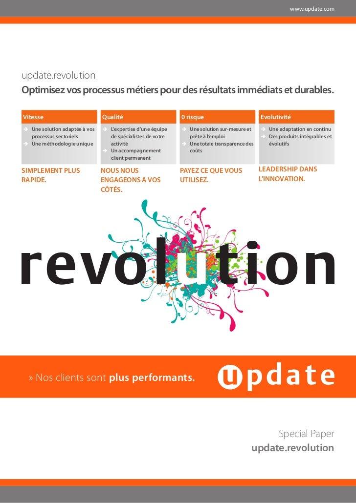 www.update.comupdate.revolutionOptimisez vos processus métiers pour des résultats immédiats et durables.Vitesse           ...