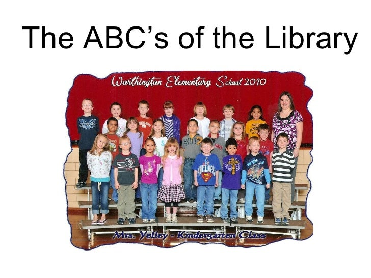 The ABC's of the Library
