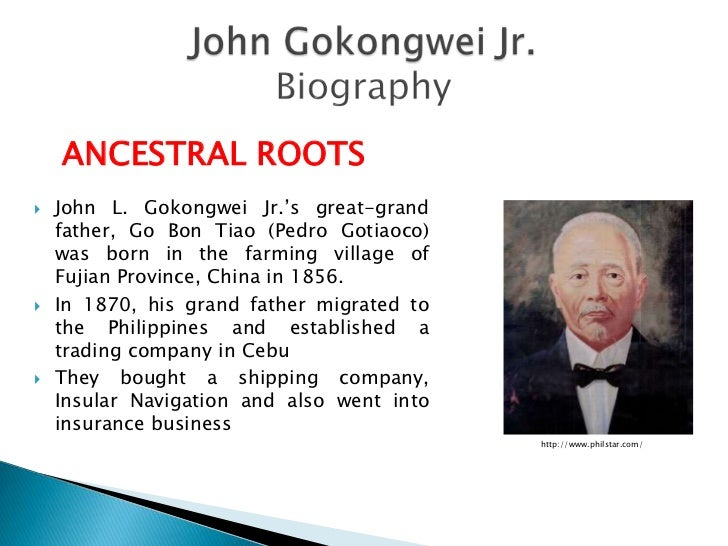 Henry sy and gokongwei case study