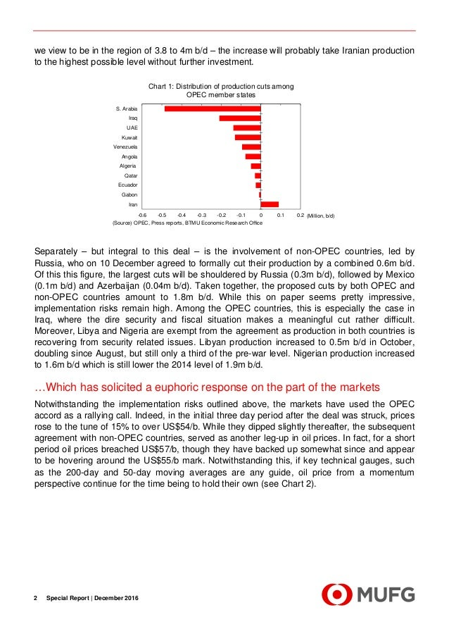 Special Report  - Aferthoughts on the OPEC agreement Slide 2