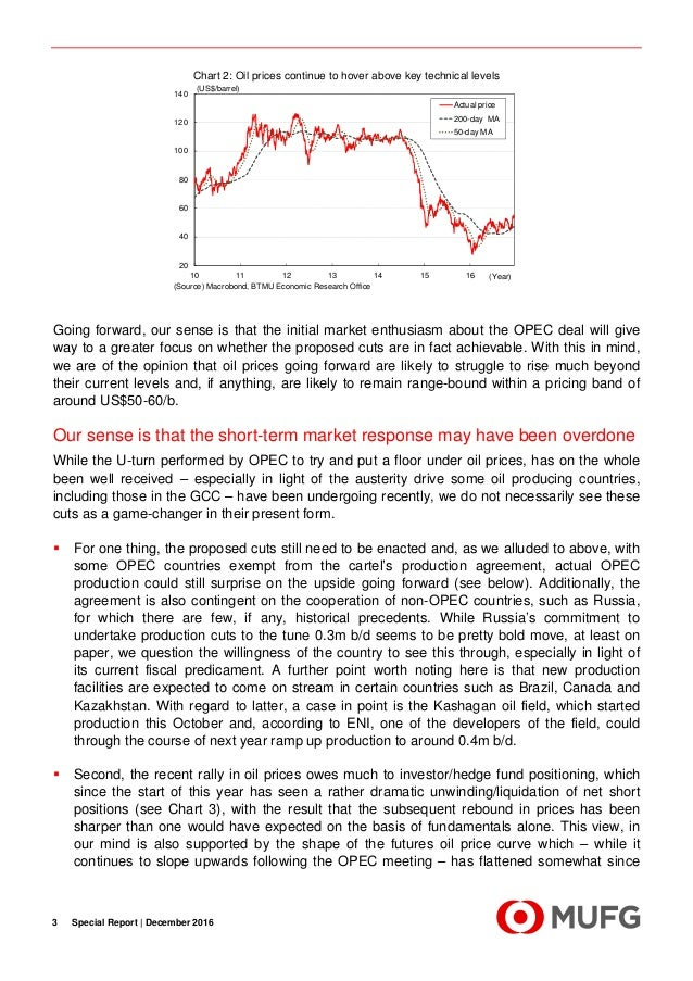 Special Report  - Aferthoughts on the OPEC agreement Slide 3