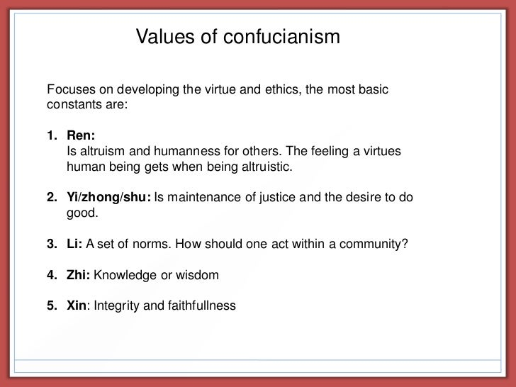 Confucius and the Confucian Family System