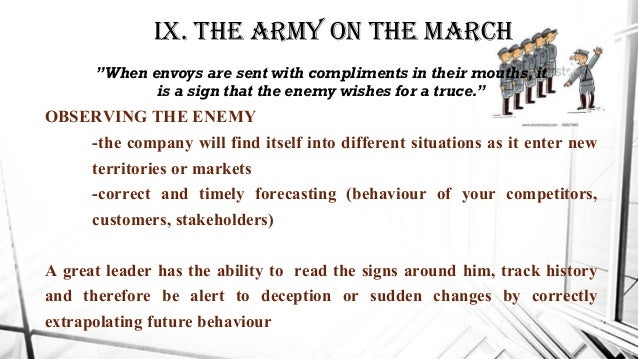 sun tzus leadership and strategic principles An analysis of sun tzu's art of war overview of sun tzu's art of war strategic creativity sun tzu the six principles from sun tzu and the leadership: leading.