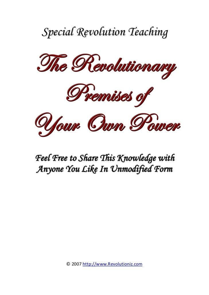 Special Revolution Teachingg { x ex ä ÉÄ â à  É Ç t Ü ç     cÜ x Å  á x á É ylÉâÜ bãÇ cÉãxÜFeel Free to Share This Knowled...