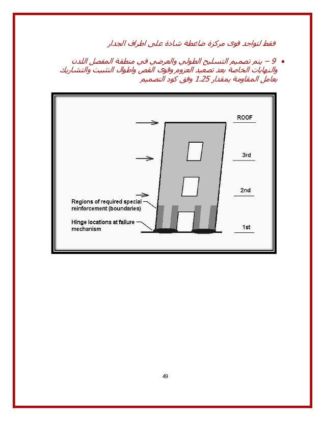 Shear Wall Design Download : Special shear walls ordinary aci