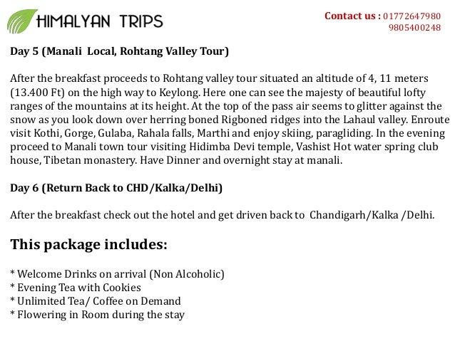 Special shimla manali honeymoon package Slide 3