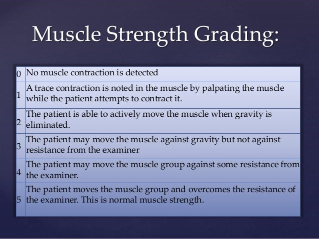 • Next, ask the patient to extend and raise both arms in front of them. Ask the patient to keep their arms in place while ...
