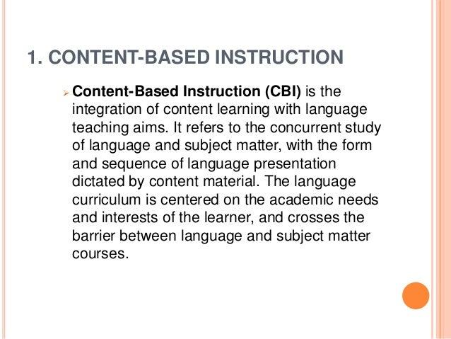 Integrative Teaching Strategies Its