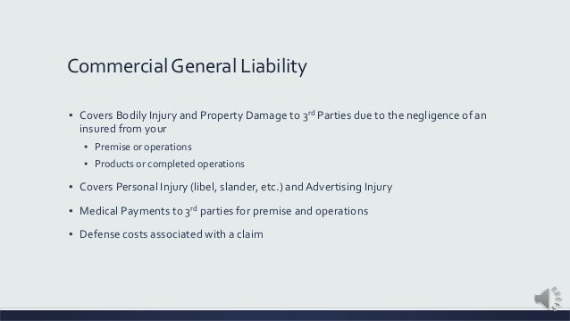 Food & Beverage Liability Insurance Slide 2
