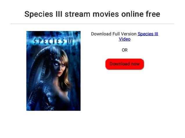 Species 3 Stream