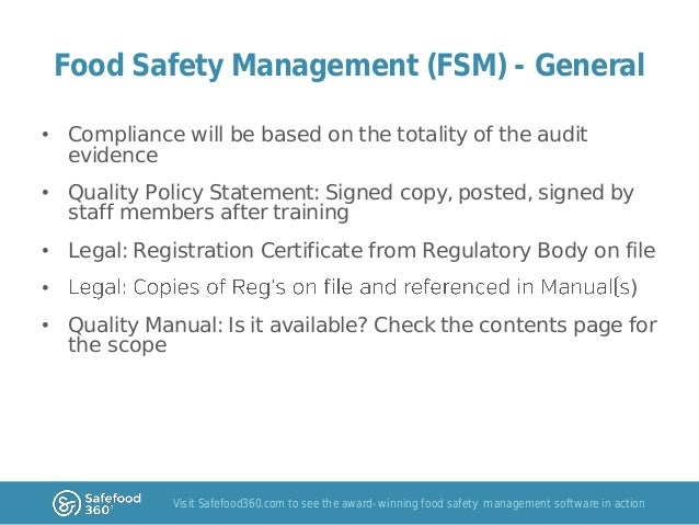 food safety and quality Validating preventive food safety and quality controls: an organizational  approach to system design and implementation is a how-to-guide.