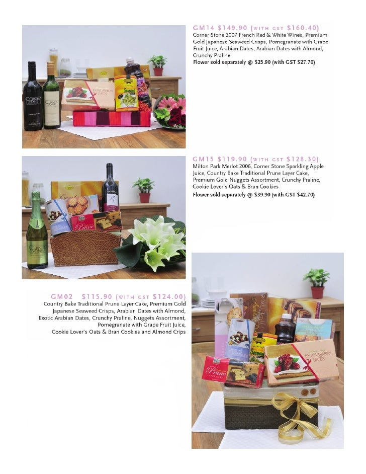 Specific Hampers 2008