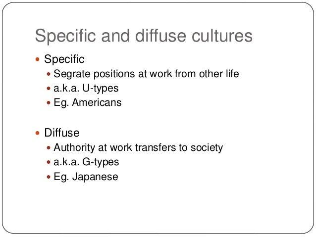 specific vs diffuse cultures pdf