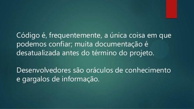 Evoluir o sistema de documentação