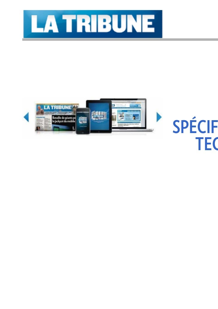 2011      PUBLICITÉSPÉCIFICATIONS   TECHNIQUES