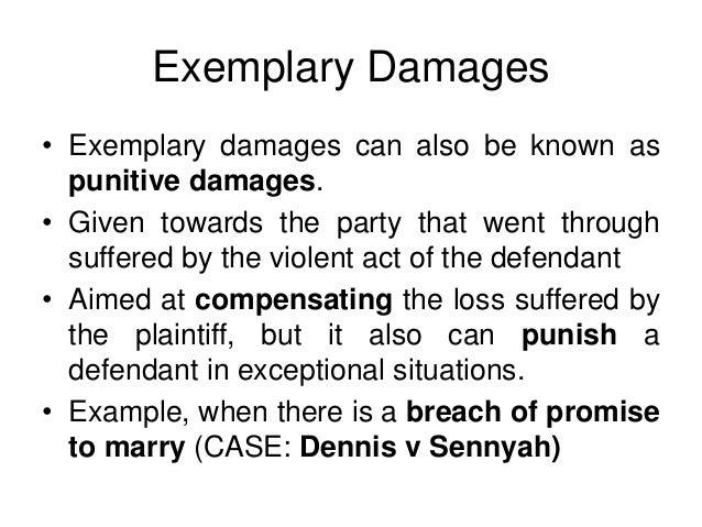 Specific Damages Slides
