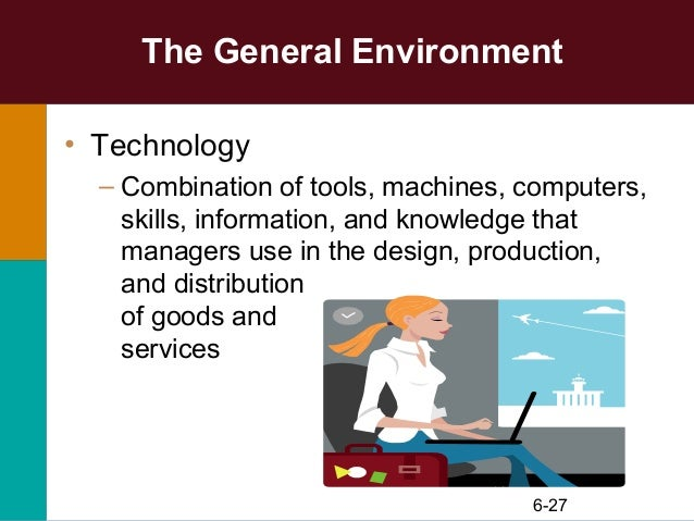 the general and specific environments of mcdonalds General and specific environment what is it refering to external environment: it refers to force and institutions outside organization that potentially affect an organizations perfomance.