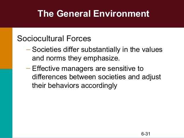 general environment forces