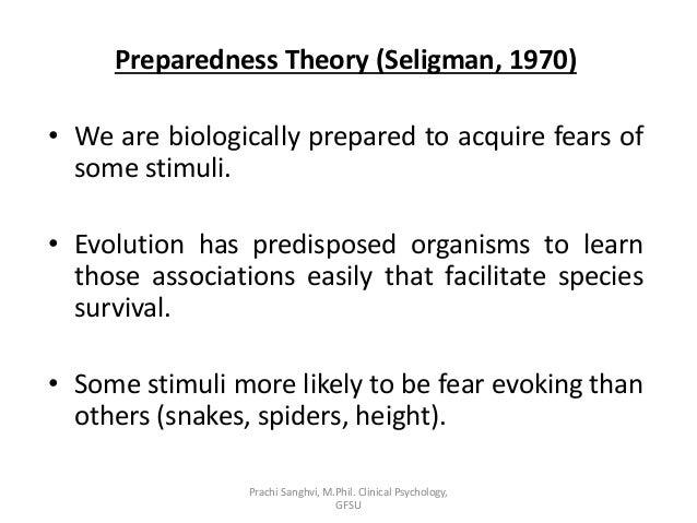 Preparedness theory today