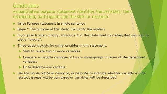 Format for a quantitative research article