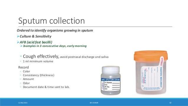 Specimen Collection Dr Manar Nursing