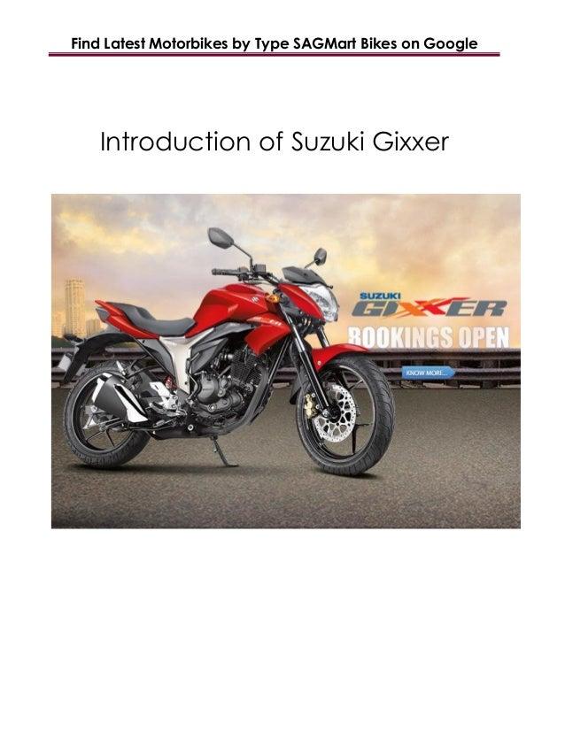 Find Latest Motorbikes by Type SAGMart Bikes on Google Introduction of Suzuki Gixxer