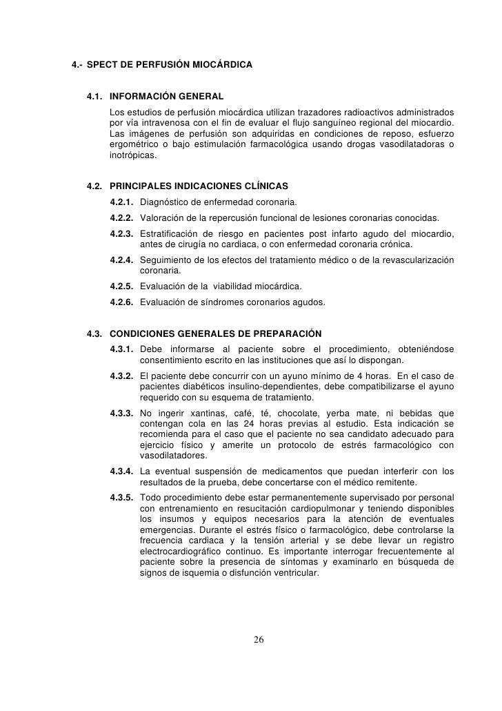 Protocolos Clinicos para estudios SPECT