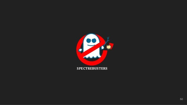 50 SPECTREBUSTERS