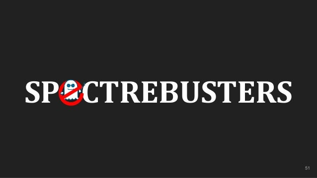 51 SP CTREBUSTERS