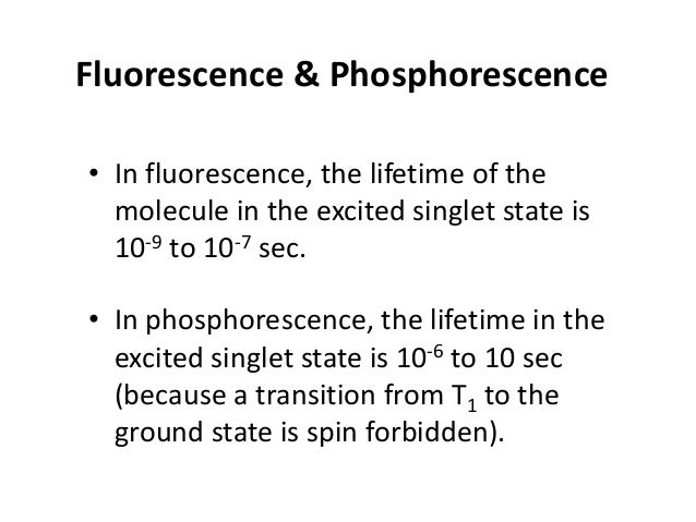 the principle of spectrofluorometer • It is an analytical device depends on the fluorescence phenomenon which is a short-l...