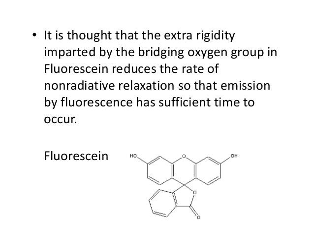 What is The fluorescence quantum yield (Φf)? • It is the quantitative expression of the fluorescence efficiency, which is ...