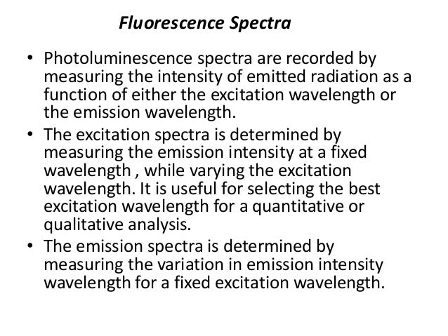 • A molecule's fluorescence quantum yield is influenced by external Variables such as: • temperature • viscosity of solven...